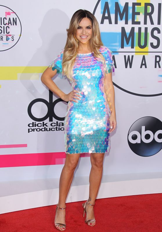 Chrishell Stause At American Music Awards 2017 in Los Angeles