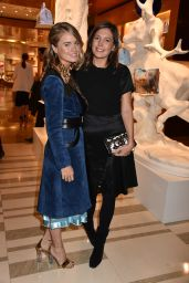 Cressida Bonas Attends a party hosted by Louis Vuitton to Celebrate GingerNutz in Vogue