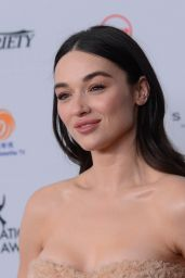 Crystal Reed At 45th International Emmy Awards in New York City