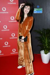 Daisy Lowe Attends the Vodafone Passes Launch held at The Bankside Vaults in London, England