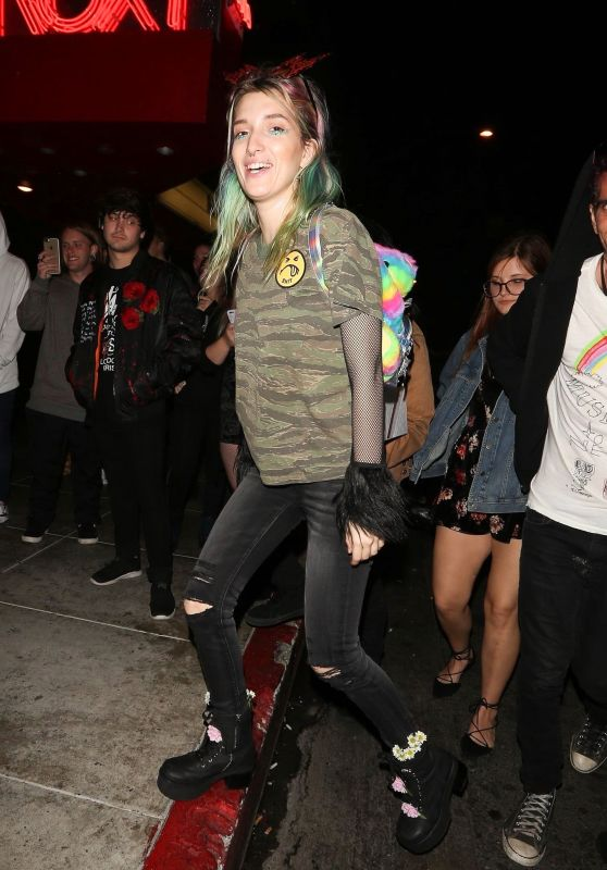 Dani Thorne At a birthday party in Studio City