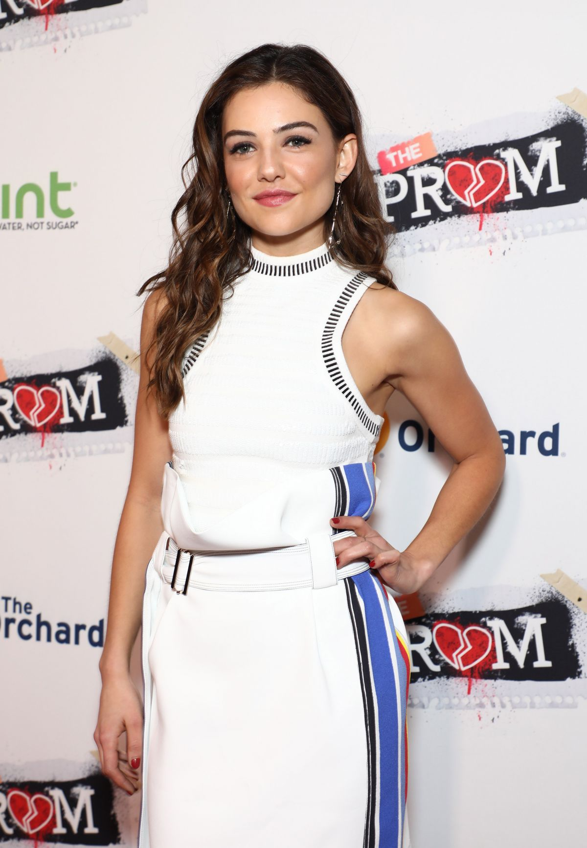 danielle campbell at �famp the prom� premiere at arclight