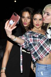 Danielle Campbell At Forever 21 CelebrateForever Winter Wonderland Event in Los Angeles