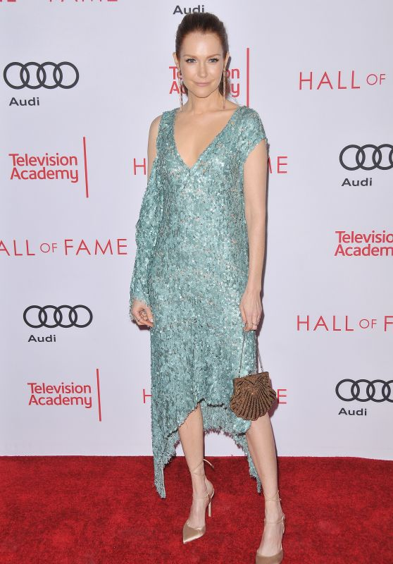 Darby Stanchfield At Television Academy 2017 Hall of Fame Induction Ceremony in North Hollywood