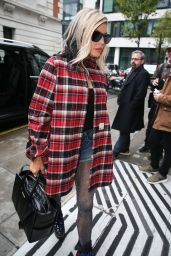 Fergie Arriving At BBC Radio Two Studios to promote her new single