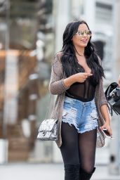 Gemma Lee Farrell and Abigail Ratchford seen shopping in Beverly Hills