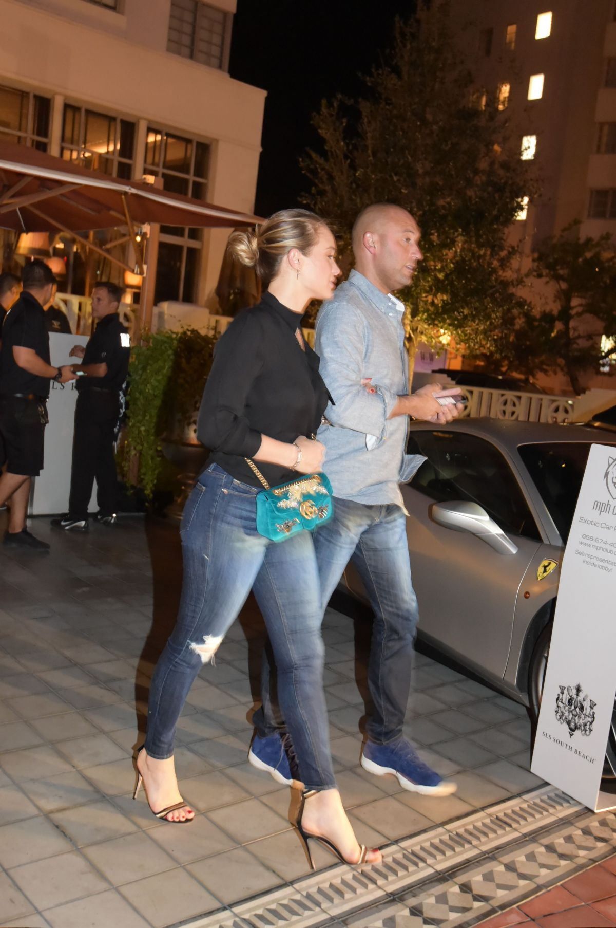Hannah Jeter Have a date at SLS Hotel Restaurant in South Beach ...