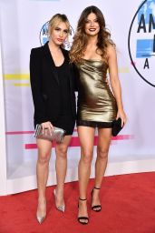 Hannah Stocking At 2017 American Music Awards at Microsoft Theater in Los Angeles