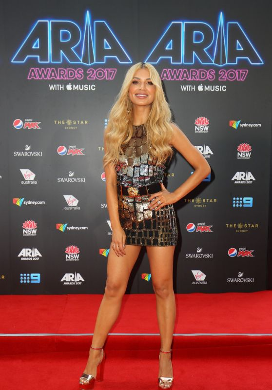 Havana Brown At 31st Annual ARIA Awards in Sydney