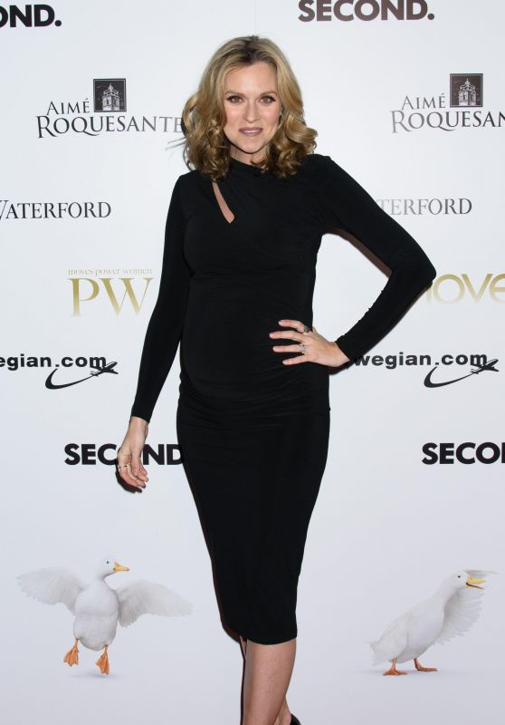 Hilarie Burton At Moves Magazine Power Women Gala in NYC
