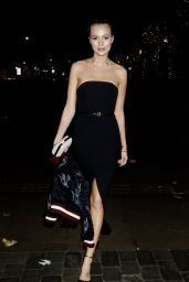 Ianthe Rose At Lipsy Winter Wonderland Party, London, UK
