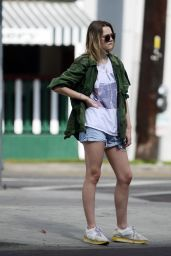 Immy Waterhouse Leaves an acting audtion in West Hollywood