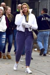 Iskra lawrence Is spotted out and about in New York City