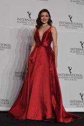 Italia Ricci At 45th International Emmy Awards in NYC