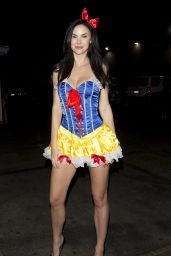 Jayde Nicole Leaves a private party in Sherman Oaks