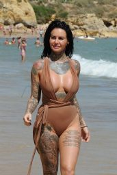 Jemma Lucy At the beach in Lanzarote
