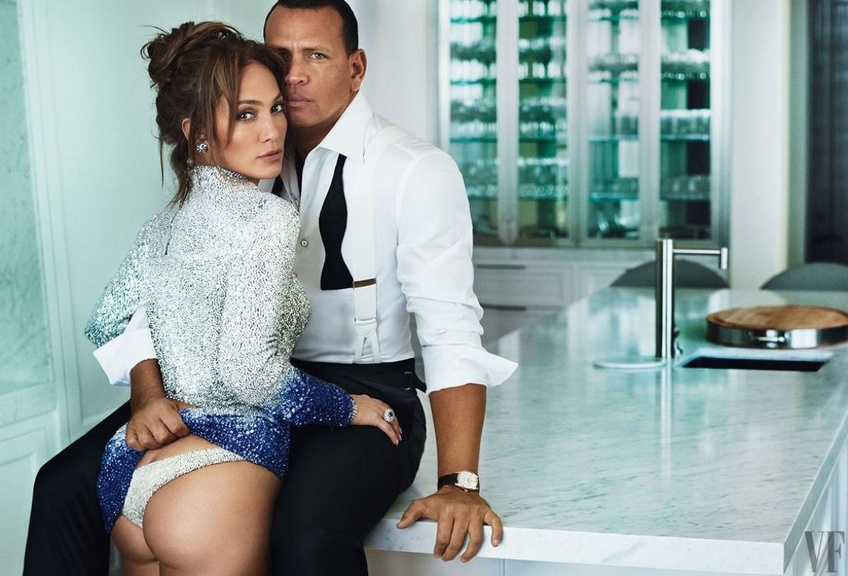 Jennifer Lopez & Alex Rodriguez by Mario Testino for Vanity Fair, December 2017