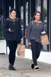 Jessie J and a friend out shopping in West Hollywood