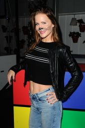 Josie Davis At Skybar At Mondrian Hosts An 80