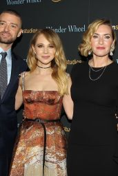 "Juno Temple At New York Special Screening of ""WONDER WHEEL"""