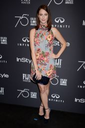 Kaya Scodelario At HFPA and InStyle celebrate Golden Globe Season in Los Angeles