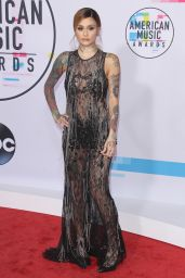 Kehlani At American Music Awards 2017 Arrivals held at the Microsoft Theater in Los Angeles