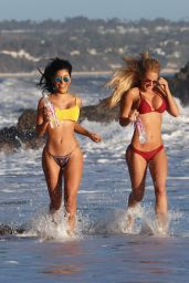 Kindly Myers At 138 Water Photoshoot in Malibu