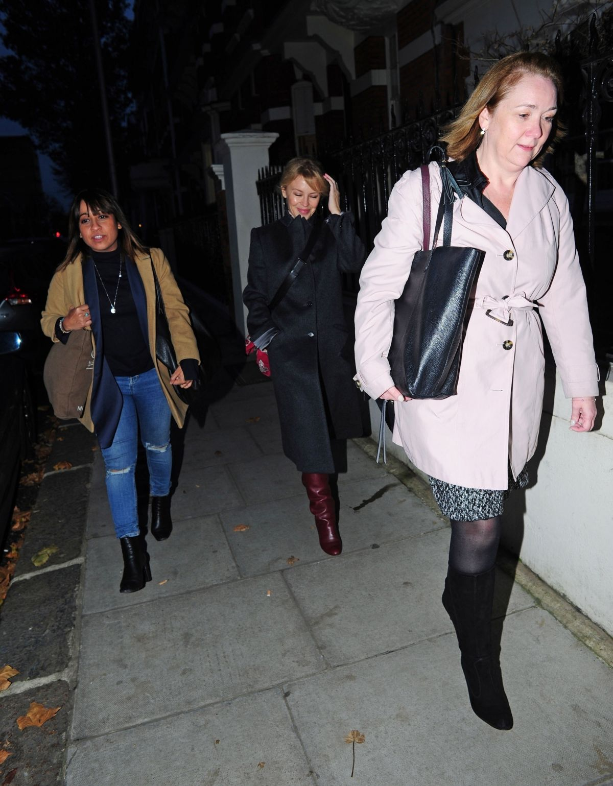 Kylie Minogue Looking happy and healthy in Chelsea