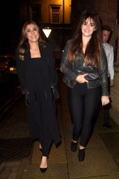 Kym Marsh Seen enjoying a night out with her look a like daughter Emily Cunliffe at Mahiki in Manchester