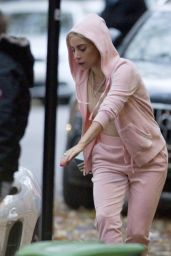 Lady Gaga Spotted out in Montreal
