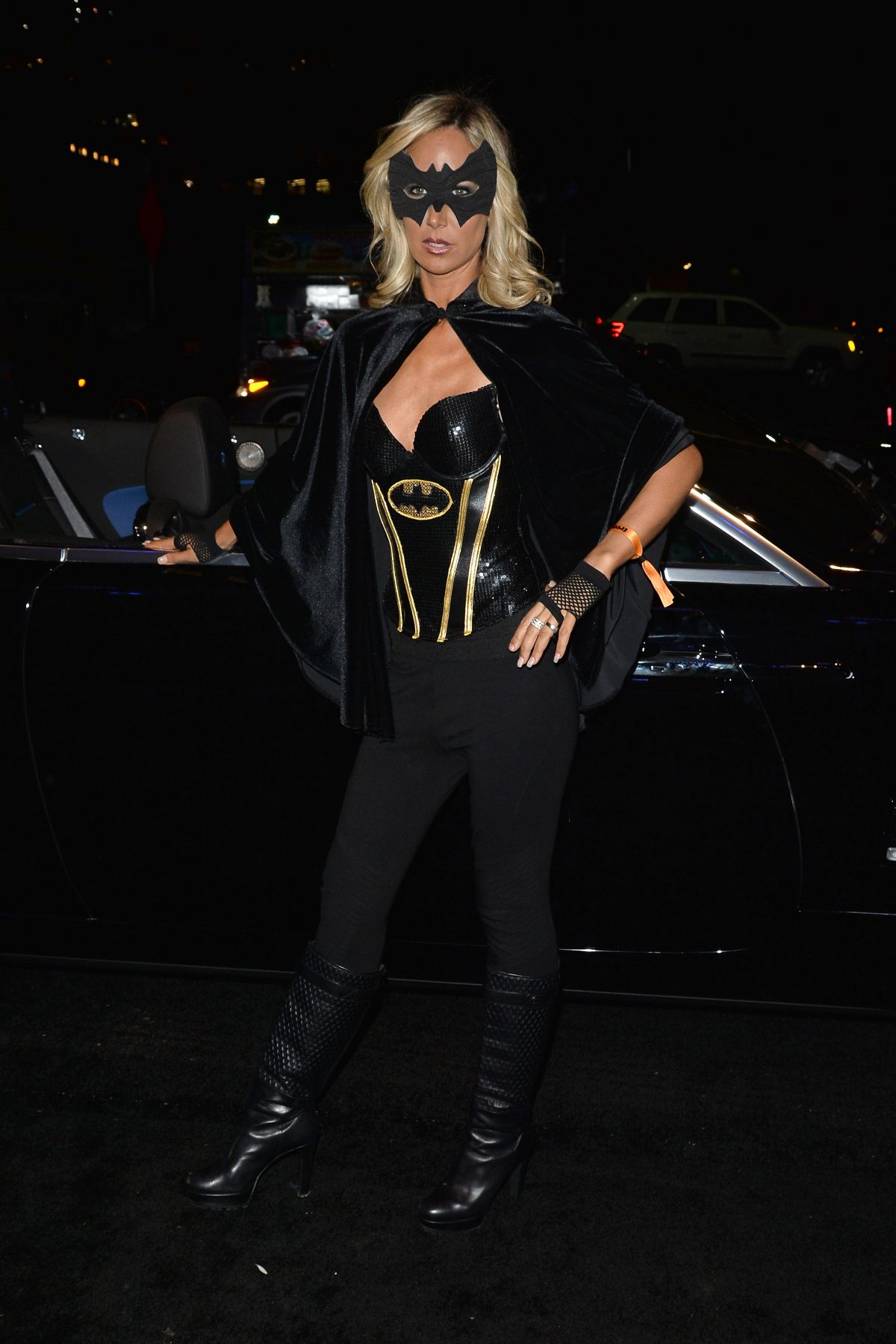 Lady Victoria Hervey Arrives to Treats Magazine Halloween Party in LA