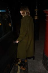 Laura Carmichael Is seen out in London, United Kingdom