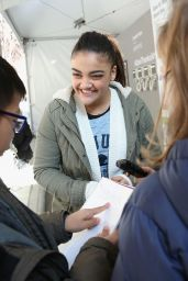 Laurie Hernandez At St. Jude Children