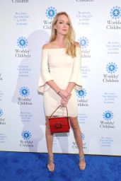 Lindsay Ellingson At World of Children Awards 2017 in NYC