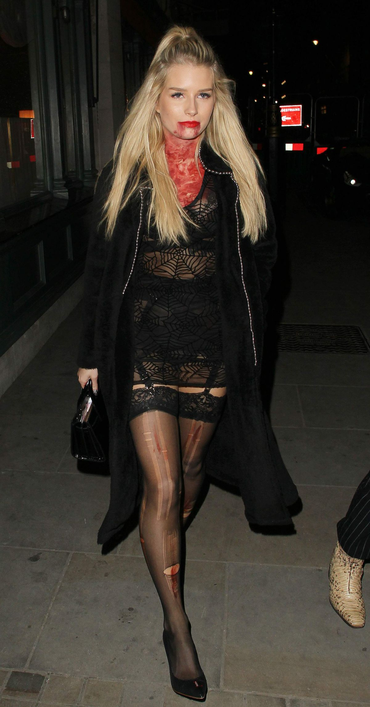Lottie Moss At Halloween Party Held At Tramp In London
