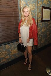 Lottie Moss Attends the MIMIBEE magazine launch party in London