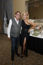 Michelle Collins Attends the launch of her new skin care center Pellum Vero at Champneys Tring in Hertfordshire