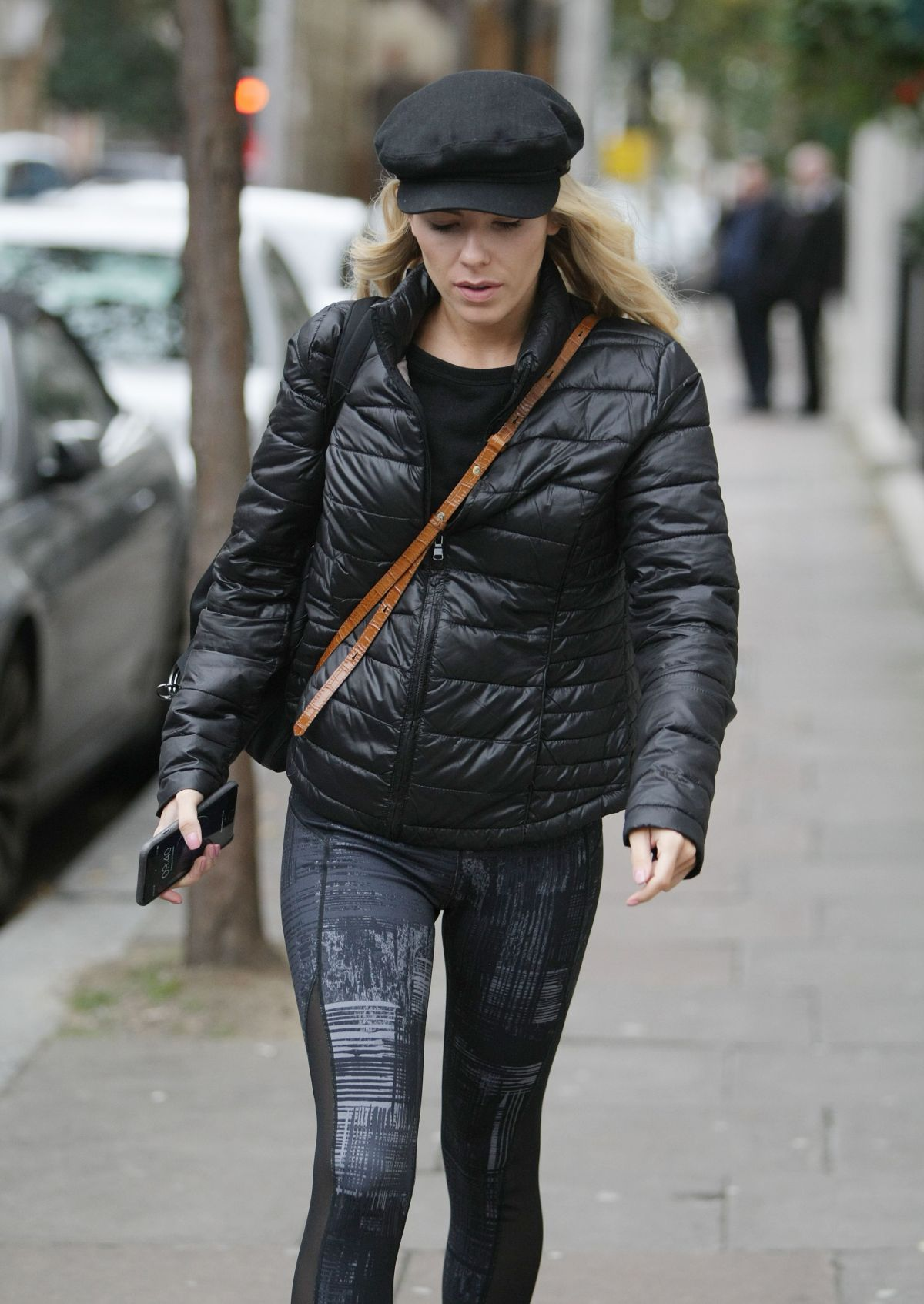 Mollie King Arrives for Strictly Come Dancing rehearsals at a studion in London