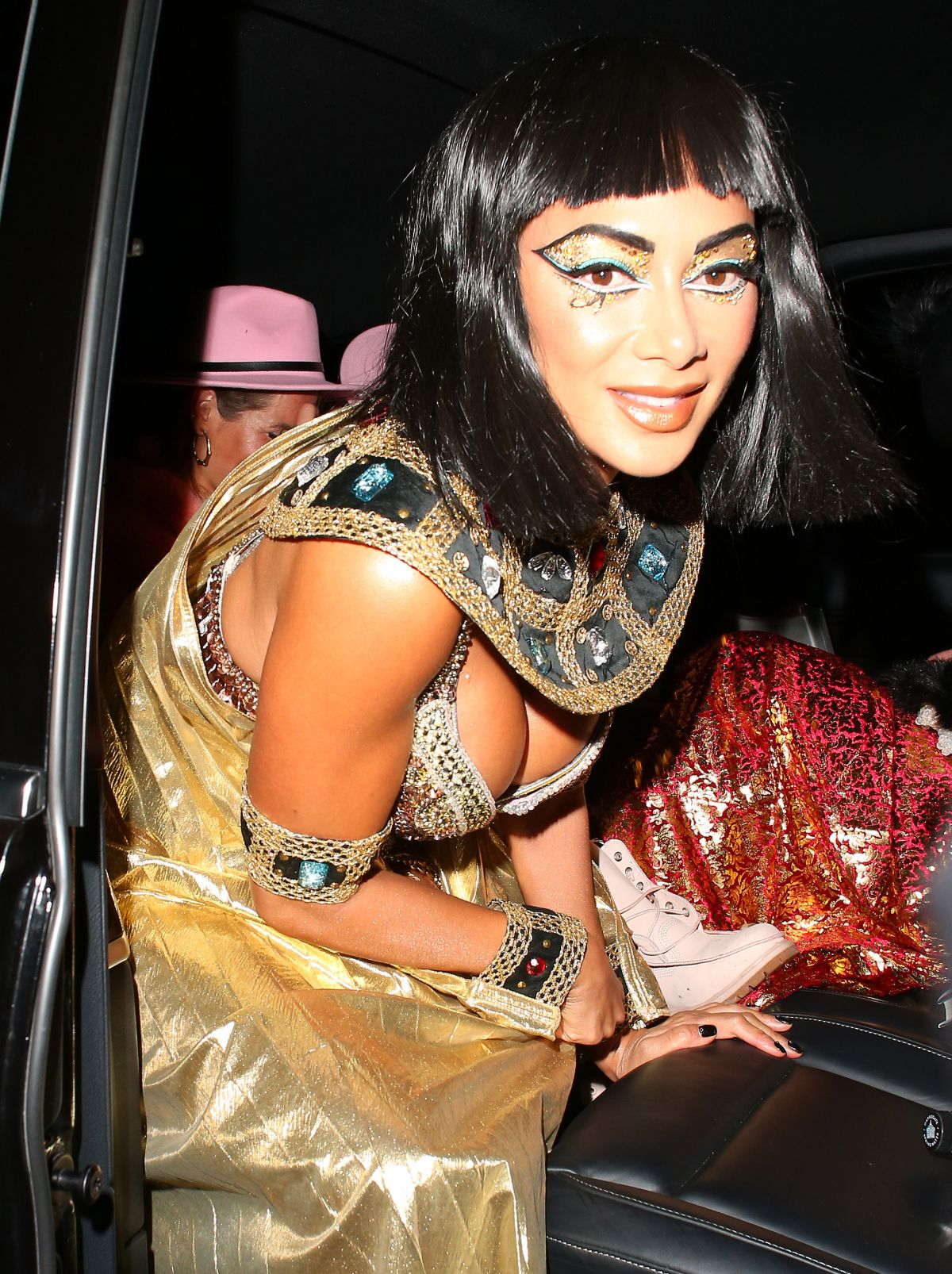 Nicole Scherzinger At Jonathan Ross Halloween Party in London