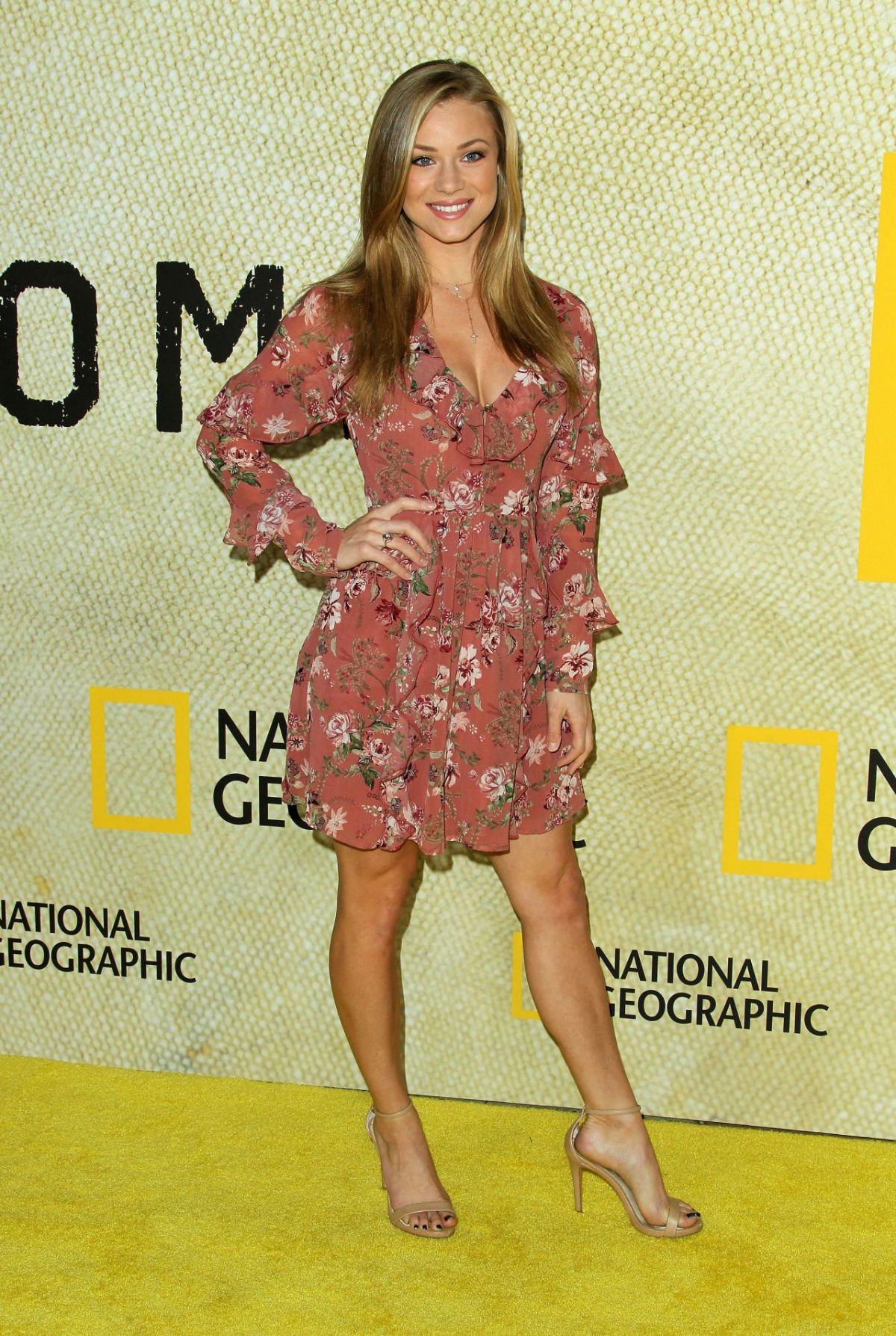 """Nikki Leigh At """"The Long Road Home"""" Premiere in LA"""