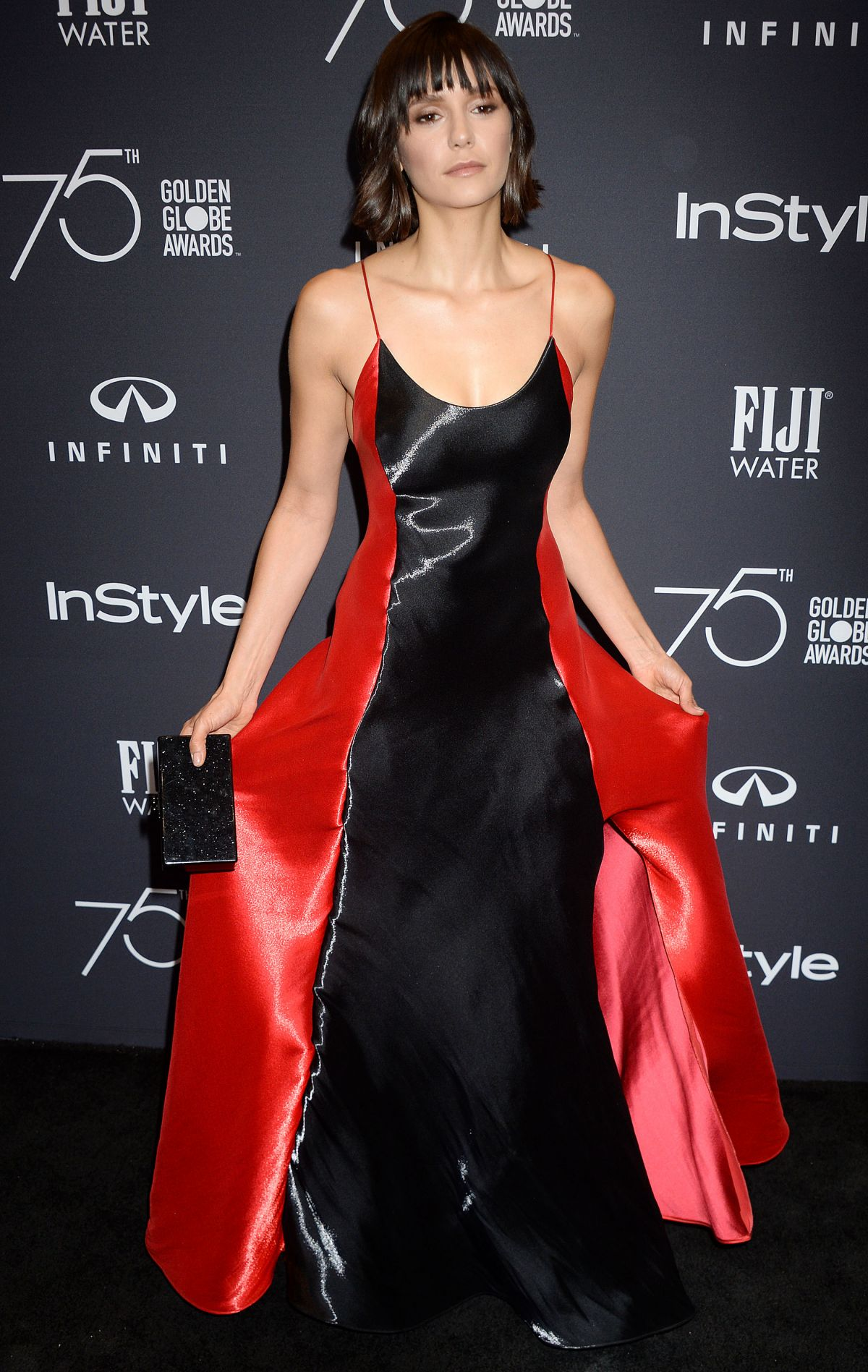 Nina Dobrev At HFPA and InStyle celebrate Golden Globe Season, Los Angeles   nina-dobrev-at-hfpa-and-instyle-celebrate-golden-globe-season-los-angeles-1