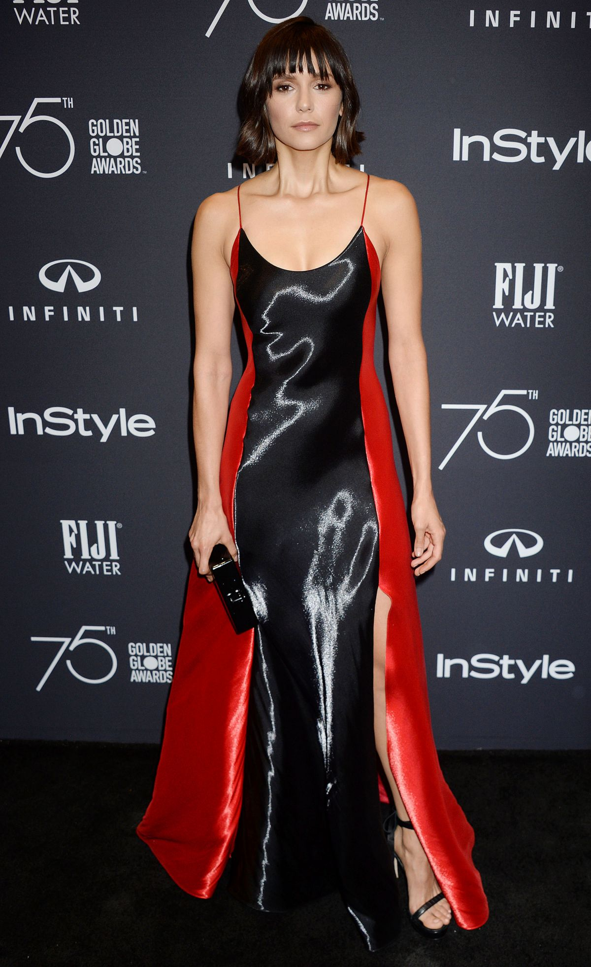Nina Dobrev At HFPA and InStyle celebrate Golden Globe Season, Los Angeles   nina-dobrev-at-hfpa-and-instyle-celebrate-golden-globe-season-los-angeles-2