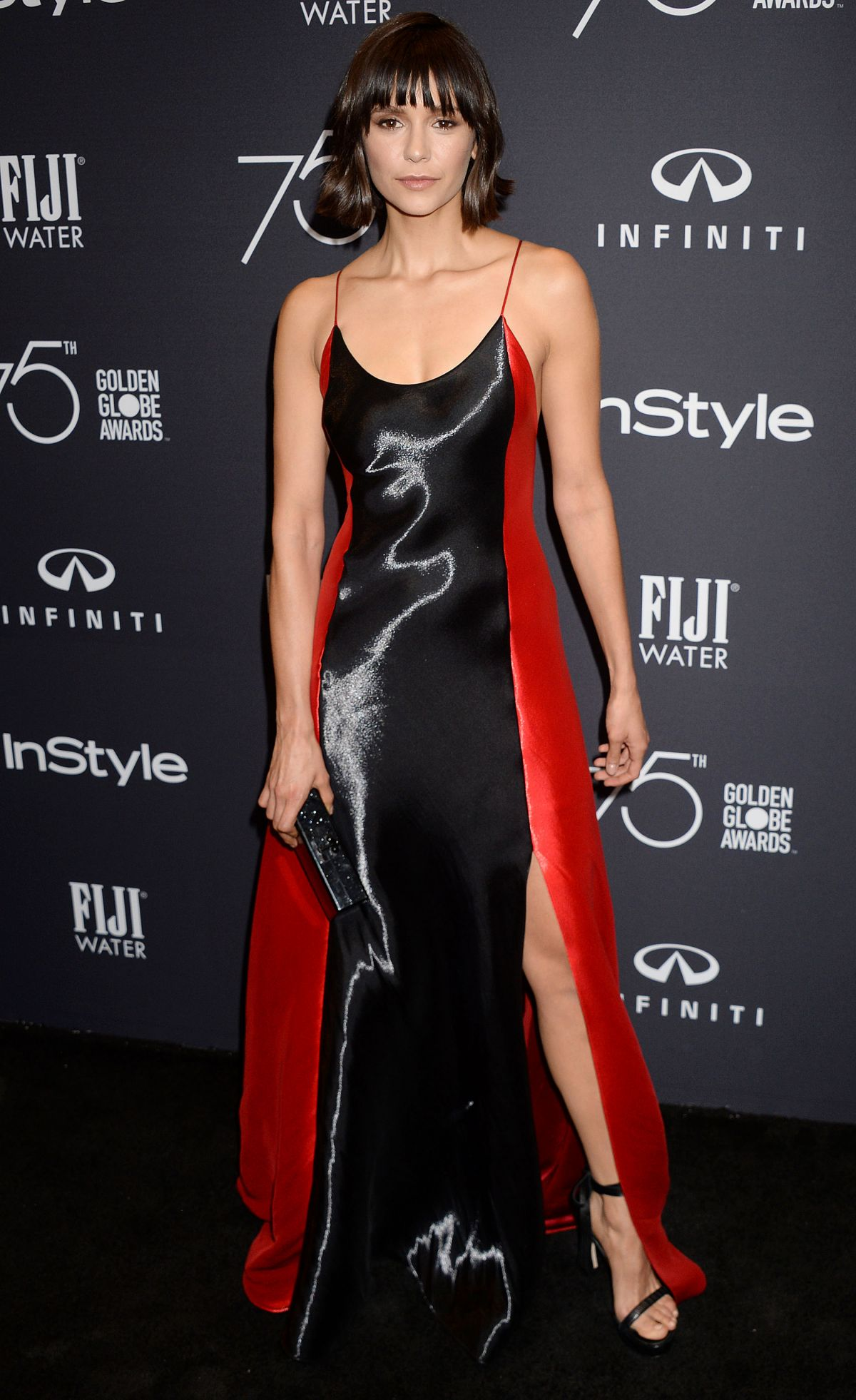 Nina Dobrev At HFPA and InStyle celebrate Golden Globe Season, Los Angeles   nina-dobrev-at-hfpa-and-instyle-celebrate-golden-globe-season-los-angeles-3