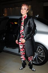 Noomi Rapace Attends a party hosted by Louis Vuitton to Celebrate GingerNutz in Vogue