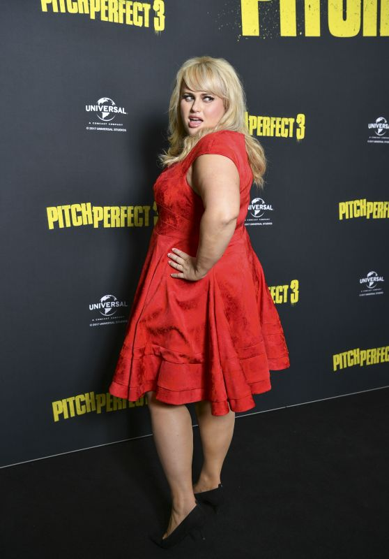 Rebel Wilson At Australian Premiere of Pitch Perfect 3 in Sydney, Australia