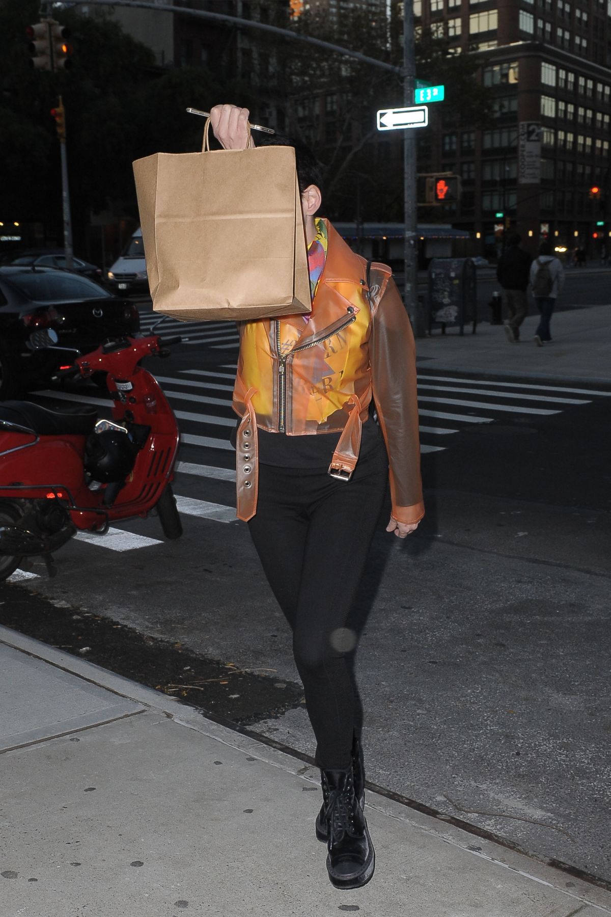 Rose McGowan Spotted in Manhattan