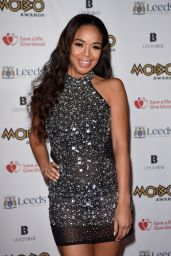 Sarah Jane Crawford At The MOBO Awards 2017 at The First Direct Arena in Leeds