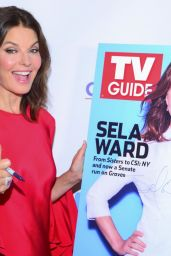Sela Ward At TV Guide Magazine Cover Celebration in NYC