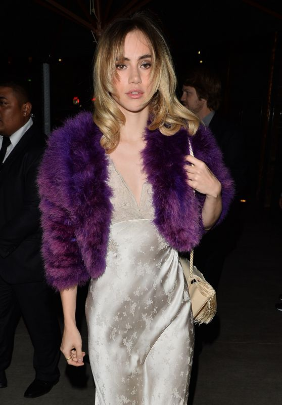 Suki Waterhouse At The Fred Hollows Foundation Inaugural Fundraising Gala Dinner in LA