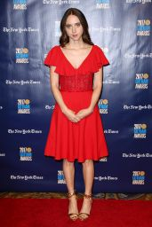 Zoe Kazan At 27th Annual Gotham Independent Film Awards, New York